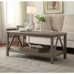 linon home decor titian driftwood coffee table the tables accent distressed grey quatrefoil end with mirror three piece set small drop leaf chairs acrylic waterfall console inch 150x150