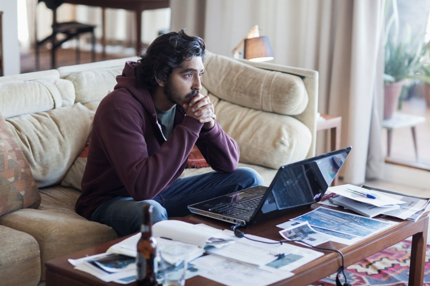 lion dev patel brings the incredible true story saroo triller accent table target stars brierley adoptee who used earth track down his home town and birth mother orange tablecloth