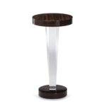 liora acrylic and wood drink table living room side accent tables interlude home robb stucky target coffee with storage parsons ashley furniture occasional set garden bench teton 150x150