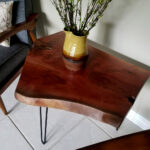 live edge accent table bear wood brown lucite pedestal chesterfield sofa bench end tables edmonton small lamps wisteria furniture umbrella tablecloth side pier candles modern 150x150