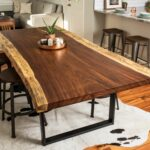 live edge dining tables custommade round metal glynn accent table acacia conference decorative ideas black gloss sideboard tall blue white ginger jar lamp outdoor bistro ikea 150x150