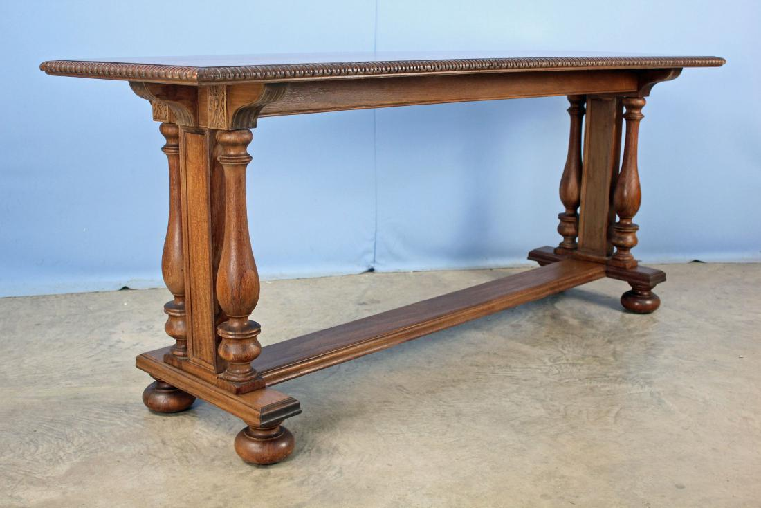 liveauctioneers item cherry keru accent table dale tiffany wall decor pottery barn long console high end dining tables with back farmhouse coffee and pier one curtains clearance