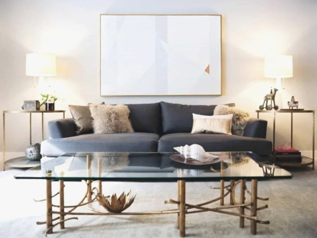 living room accent tables elegant modern with grey sofa and side table lamps garden chairs door chest white oval coffee antique brass blue mosaic tree trunk outdoor furniture