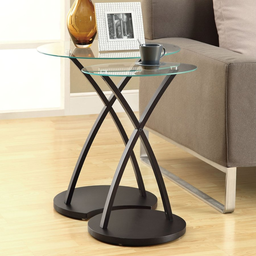 living room accent tables set table design ideas knurl monarch specialties piece clear white coffee barbie furniture extra large decorative wall clocks black metal tiffany