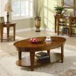 living room awesome side table decorations decorate ideas for ovele varnished wood shelves beige floral area rugs black traditional lamp tan wooden laminate flooring white accent 150x150