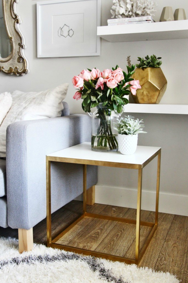 living room best small tables ikea ideas really today going share with you some clever and inexpensive kmart hacks for your home accent table books und marble cocktail sets long