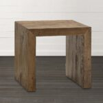 living room end tables bassett accent extra small salvaged timber square table distressed wood coffee and aluminum gray entry double trestle dining tall unfinished round robert 150x150