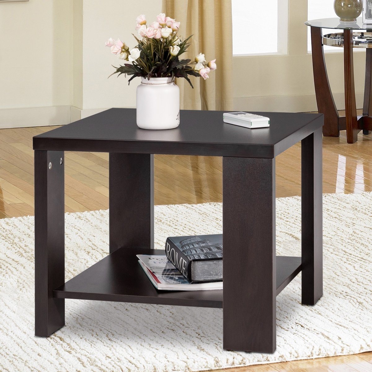 Living Room End Tables For Small Spaces Side Coffee Table ...