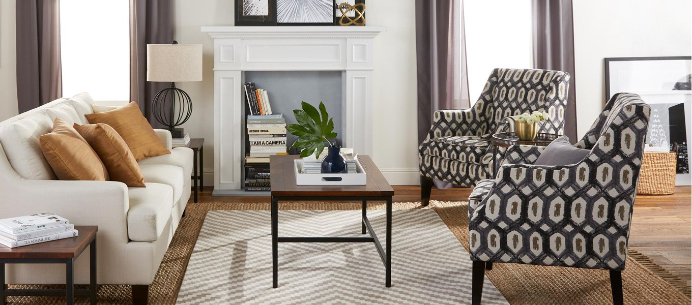 living room furniture piece accent chair and side table set get the look curved mirrored bedside bathroom art gray lamps patio tablecloths banana lounge bunnings oval acrylic
