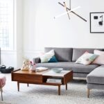 living room inspiration west elm pink marble accent table streamline side antique bronze and more target threshold drawer half moon mirrored sofa with storage pottery barn dining 150x150