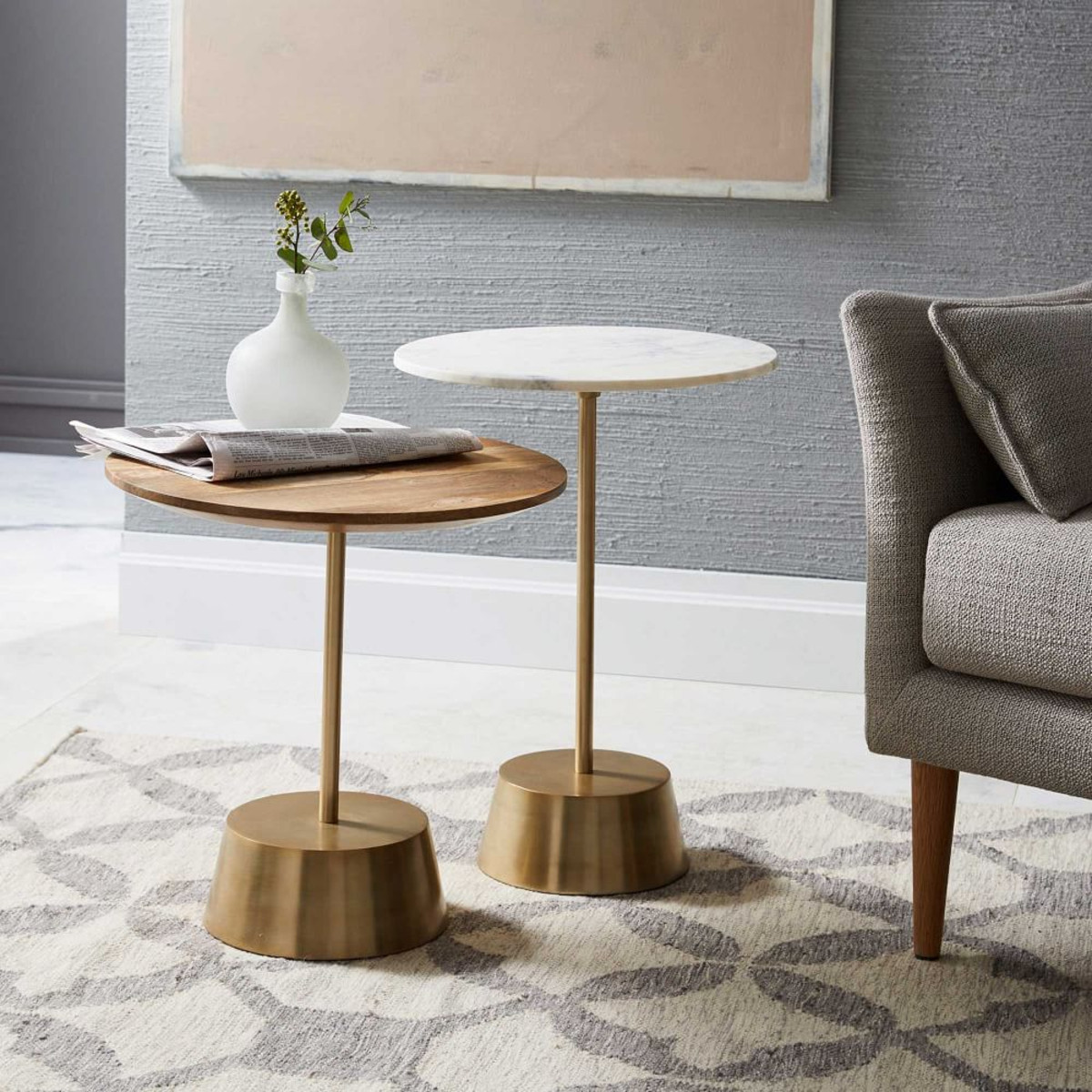 living room lounge side tables furniture small table decorative tall coffee glass and accent full size lamp outdoor serving with wooden legs metal large round linen tablecloths
