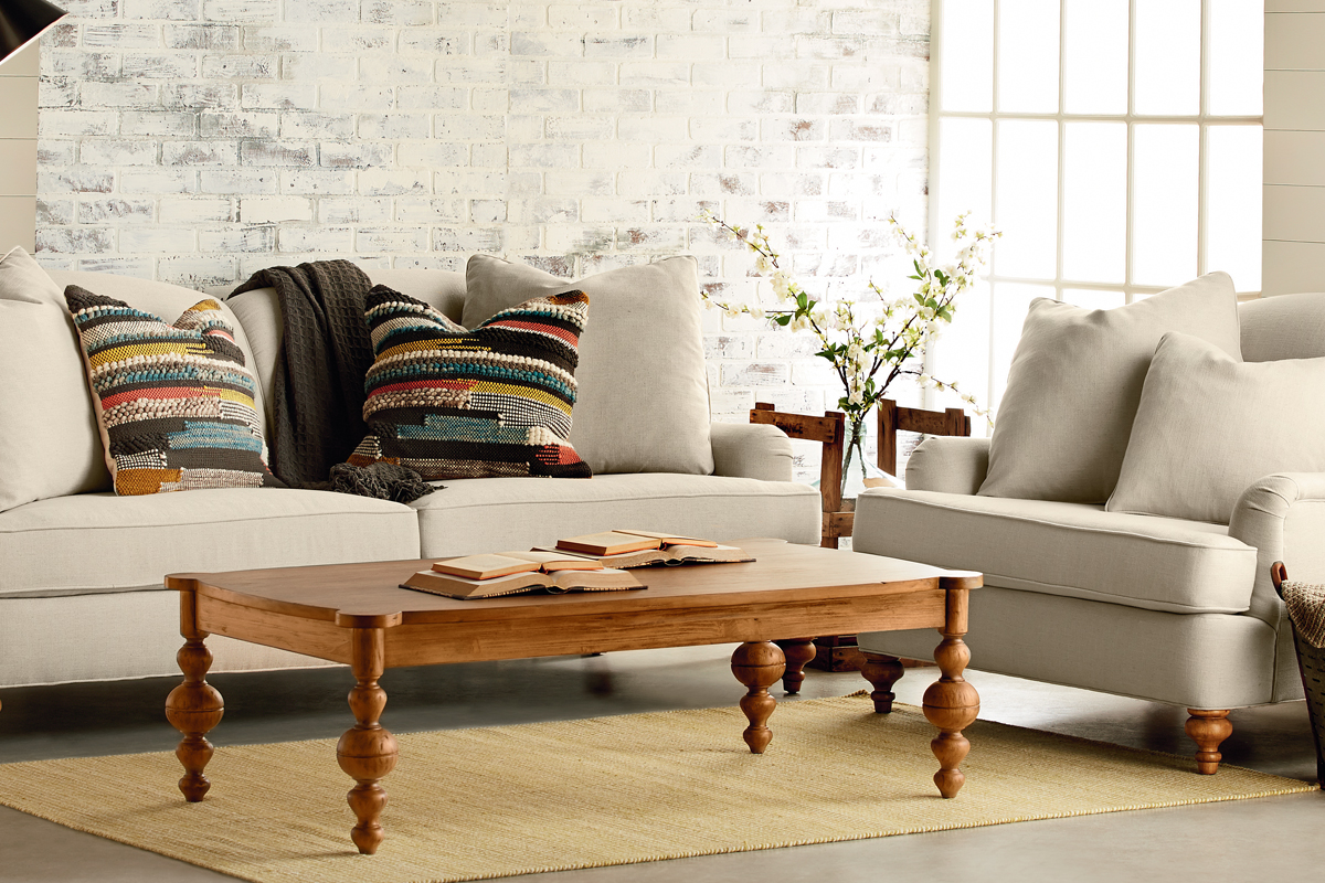 living room magnolia home turned leg coffee table setting aspx small farmhouse accent adore extra long narrow console brown dining chairs white wicker furniture mint end desk red