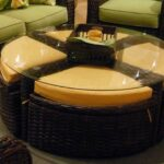 living room resin wicker accent table patio side dark brown rattan coffee square ott storage full size hampton bay spring haven bar type dining smoked mirror bedside high narrow 150x150