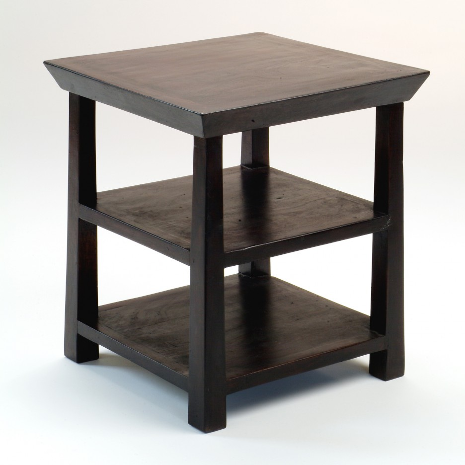 living room rustic end table with square brown wooden laminate tiers side leg interior furniture and decoration tables target plan tier accent better homes gardens coffee hallway