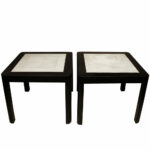 living room without end tables probably perfect beautiful white karl springer lobel modern nyc clad table with shagreen tops coffee dimensions design custom black accent drawer 150x150