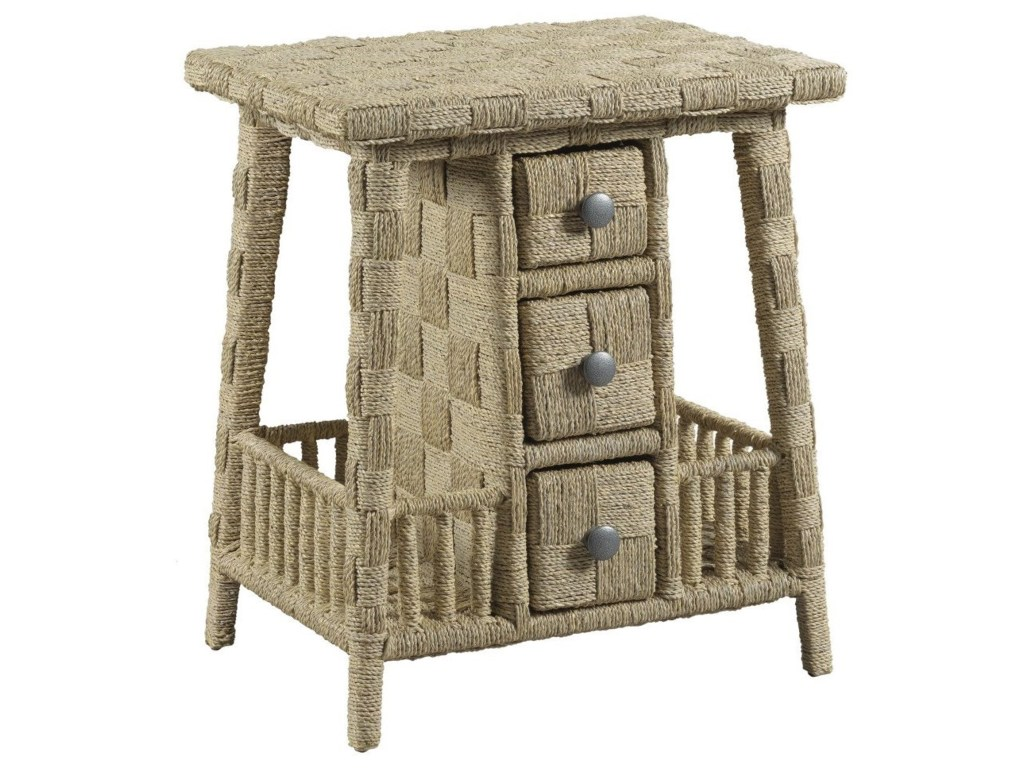 living trends litchfield carolina accent table with three drawers products american drew color outdoor woven metal threshold litchfieldaccent small semi circle kitchen chairs