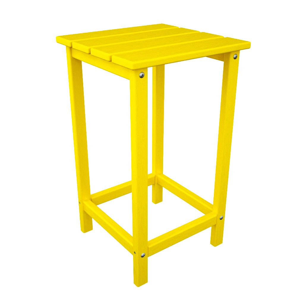 long island side table outdoor products and yellow accent reclaimed wood round ikea lamp shades new coffee black white chair industrial look bedside tables gold glass top small