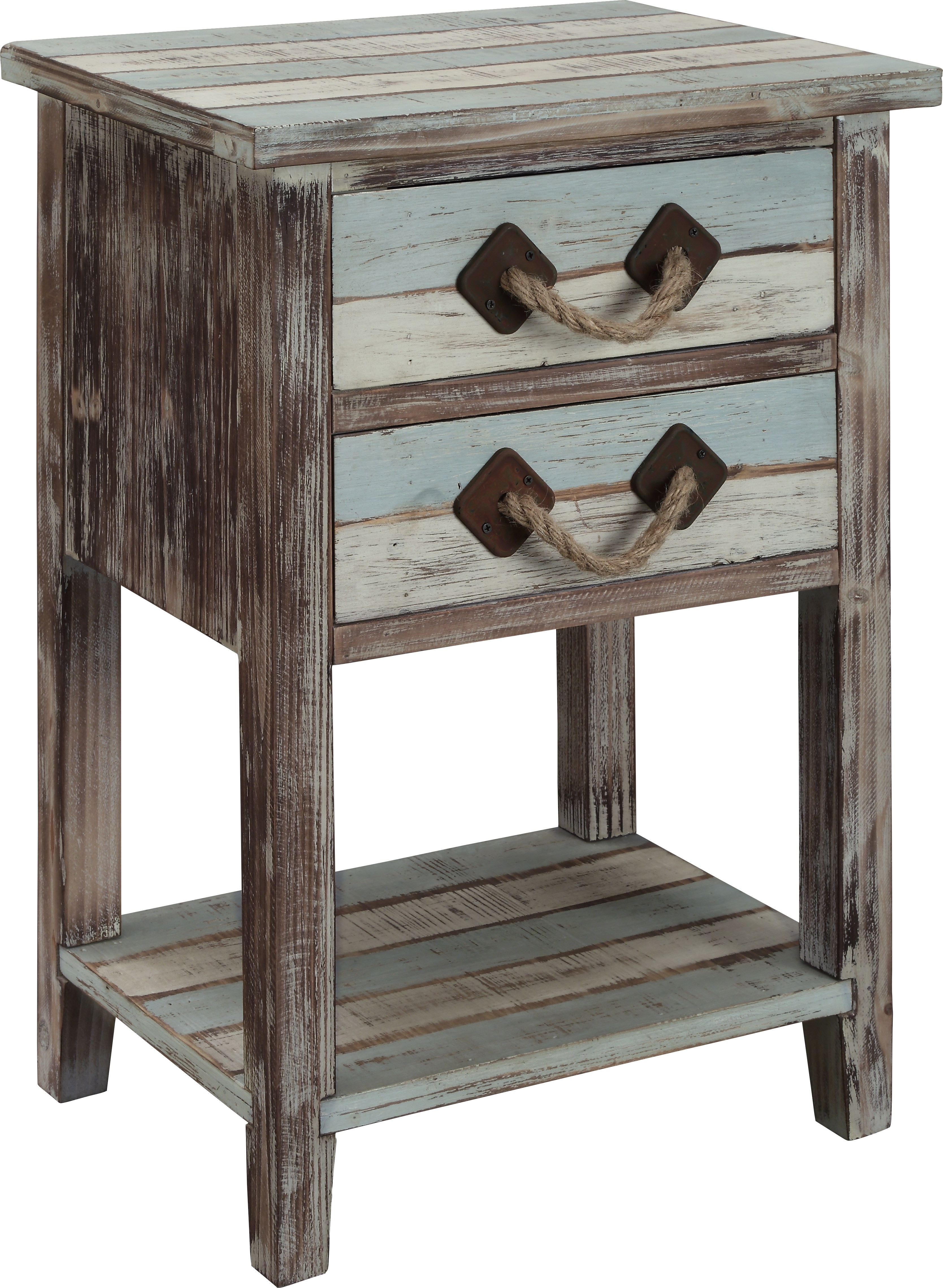 longboat key blue accent table tables colors vinyl furniture gold drawer pulls white lamp base modern living room chairs small gloss console ashley ott light mango wood retro