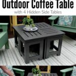 looking for ideas easy diy outdoor coffee table this plans side clearance shows how drawer dishwasher kijiji chairs cocktail inch round marble black legs high end console tables 150x150