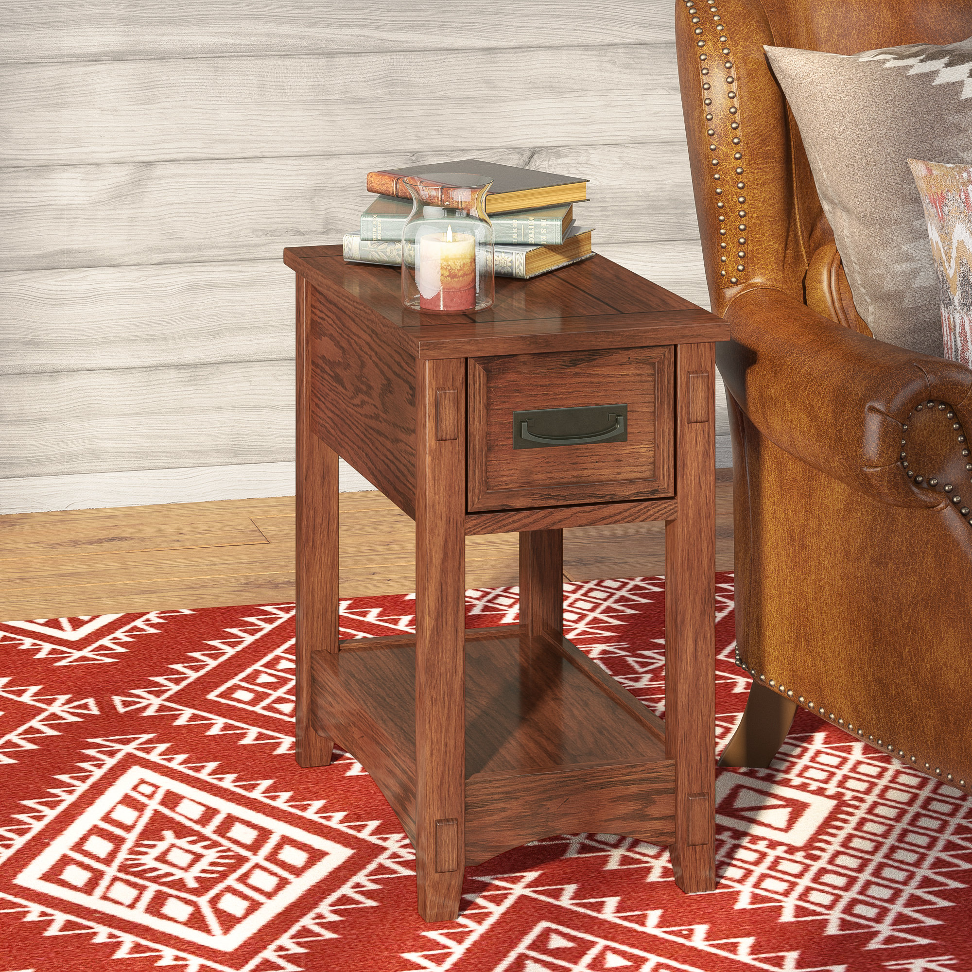 loon peak barrett end table with storage reviews faux wood accent narrow farm battery operated lamps lighting collapsible round top small desk hutch stanley furniture target