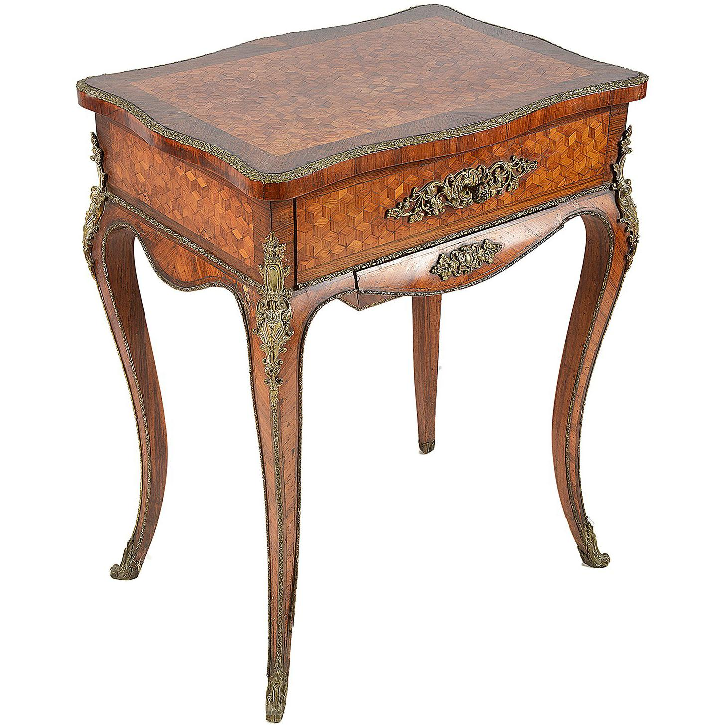 louis xiv tables for master oak corner accent table folding garden furniture acrylic and brass coffee oriental ginger jar lamps living spaces sofas desk lamp ikea plastic storage