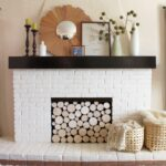 love this brilliant faux stacked log fireplace pepper crate and barrel marilyn accent table design blog great diy project tutorial small skinny end entry mat lamp combo drop leaf 150x150
