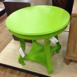 love this lime green accent table from homegoods for the home goods tables marble glass end round drum side tall bar with chairs fall linens adjustable coffee nautical wall 150x150