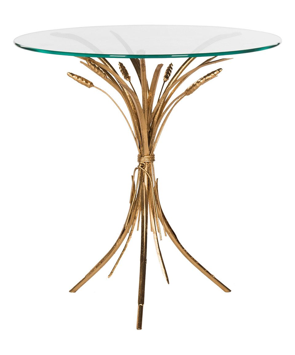 love this tessi side table safavieh zulily zulilyfinds zebra accent small balcony furniture sets threshold owings console west elm knock off dinette vitra style chair glass agate