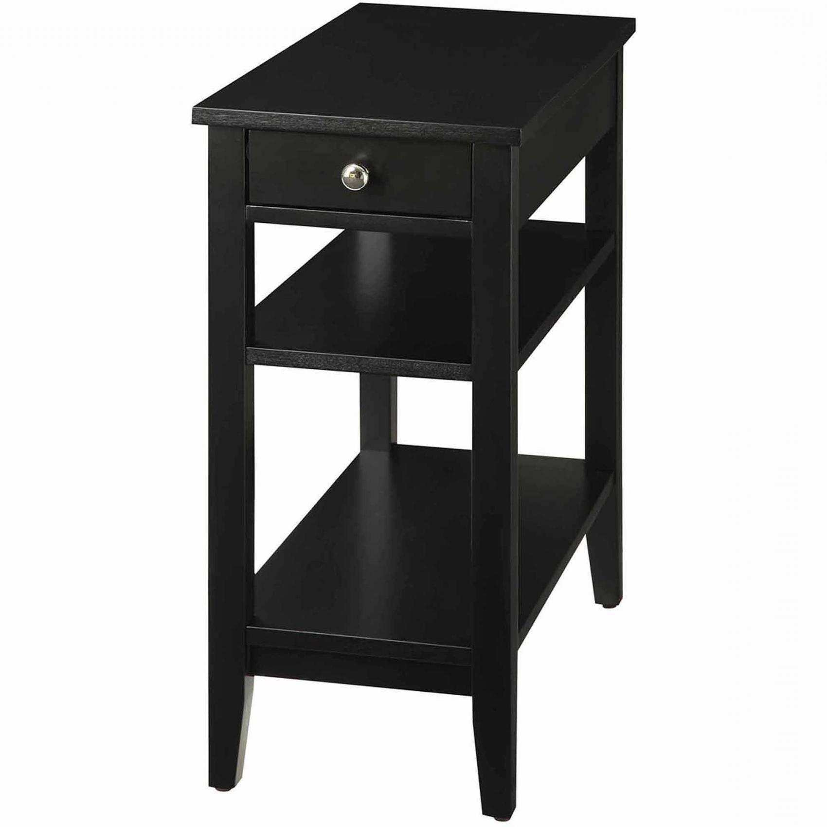 lovely narrow black end table lepeededamocles info best snazzy round wood small accent with drawer outstanding tablecloths decor windham wine rack teak outdoor dining coffee and