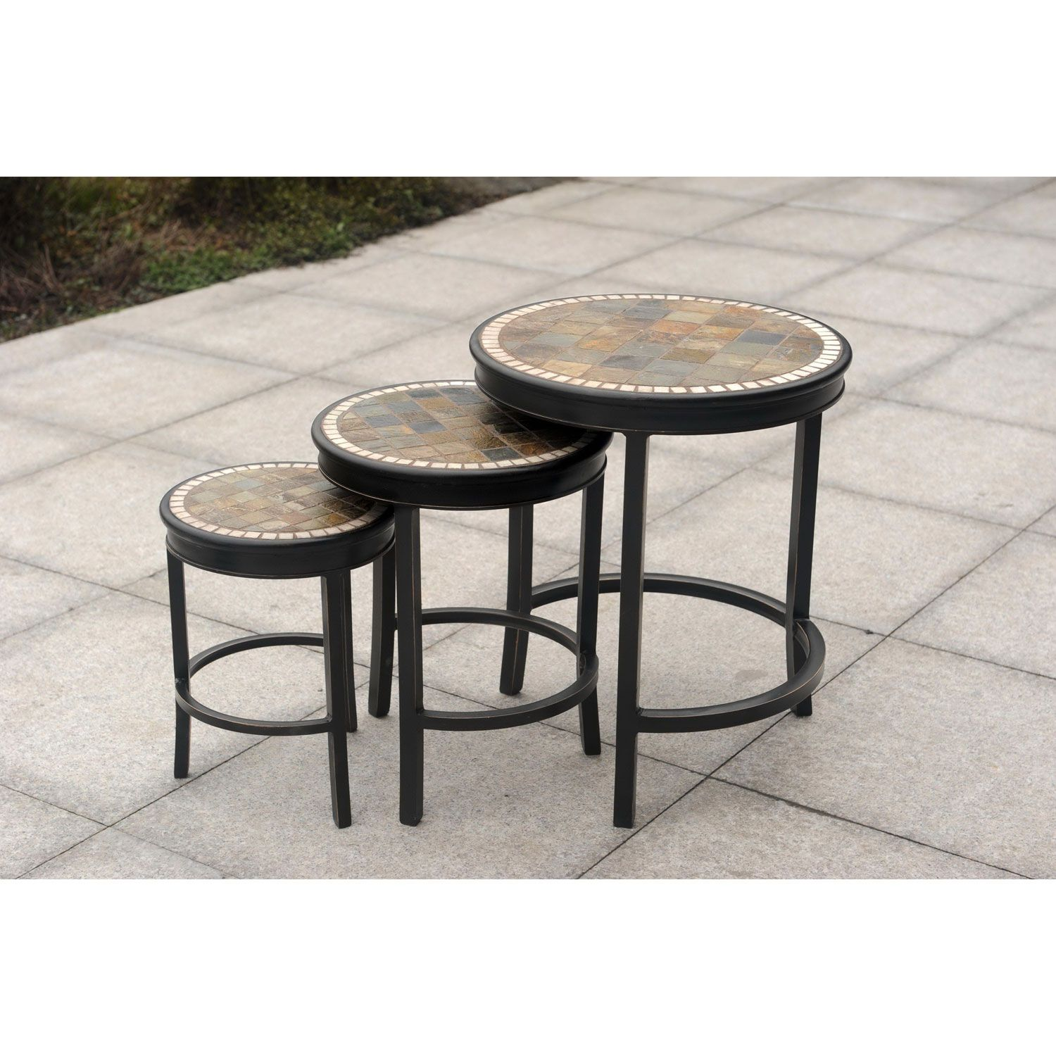 lovely patio accent table design uttermost tables outdoor rectangular side slim console with drawers round linen tablecloth lamp usb port drum throne top small cloth metal trestle