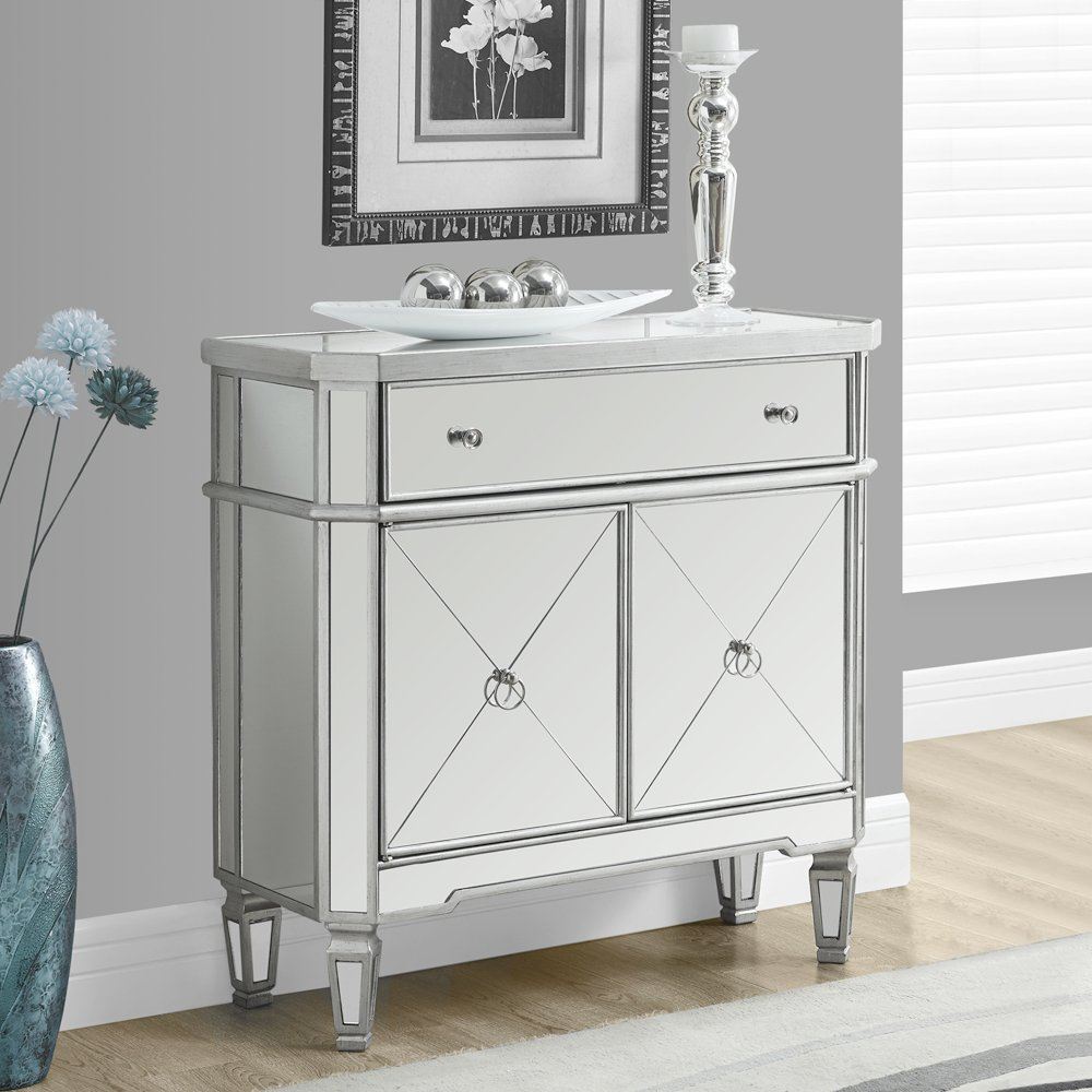lovely silver accent table popular with tables round outdoor chair designer bedside lamps miera diamond mirrored low living room tilt umbrella stand tall chest drawers circular
