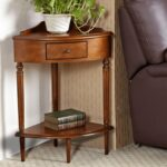 lovely small accent table for wood corner compact min outdoor storage end trestle base drawer with mirror tiffany style lamp ice bucket mini lamps battery operated plus 150x150