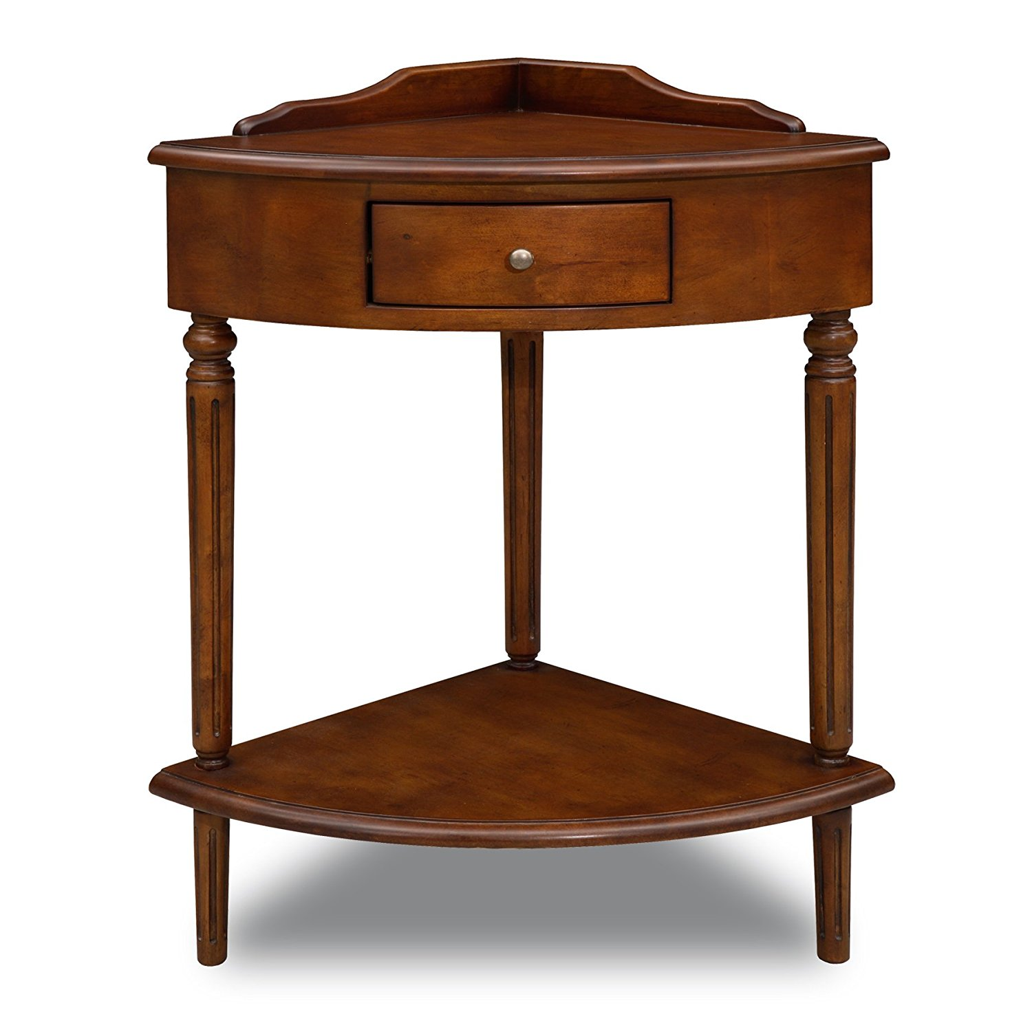 lovely small accent table for wood corner dining room compact with drawer and lower shelf hammered copper top end tables large shade umbrella side drawers glass lamps living