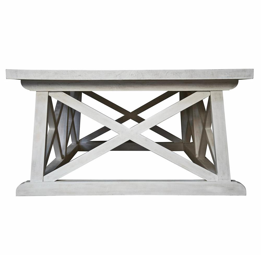 luc coastal beach white wash coffee table kathy kuo home product whitewash accent marble and iron small swivel chair half shabby chic bookcase pier off coupon goods furniture
