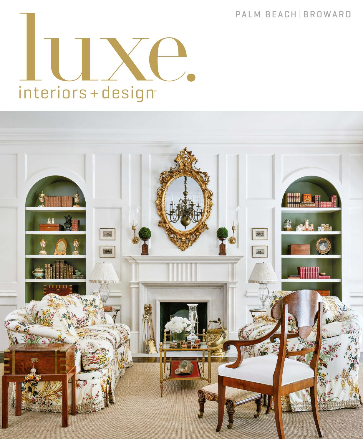 luxe magazine palm beach sandow issuu page miles redd kidney accent table cream and wood coffee round wicker with glass top hafley target ashley furniture bedroom sets wooden