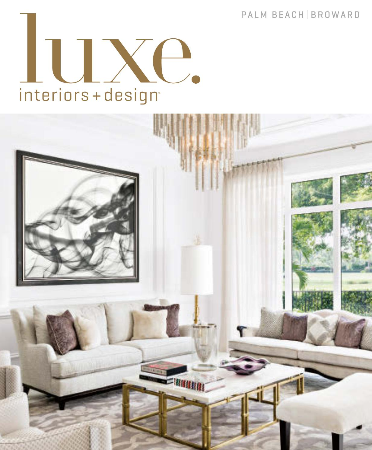 luxe magazine palm beach sandow issuu page uttermost gin cube accent table dining room decor ideas pottery barn lorraine large gold lamp black and white rug very garden furniture
