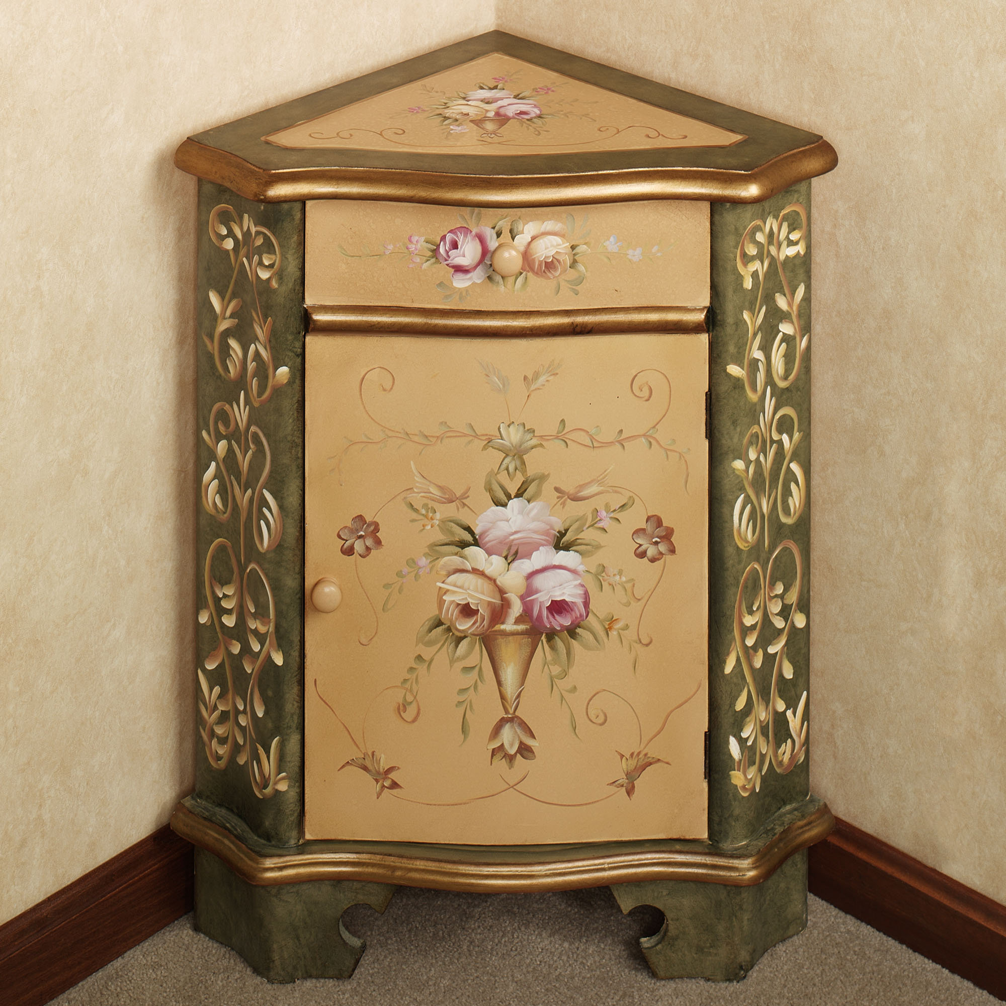 luxury corner accent table for dining room zandeah rose floral furniture cabinet design awesome using drawer and not decor ideas sheldon outdoor mirrored tray side aluminum
