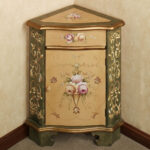luxury corner accent table for dining room zandeah rose floral furniture cabinet design awesome using drawer and not small sheldon robinson has subscribed credited from white 150x150