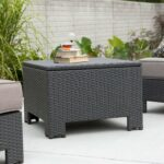 luxury gallery inspirations about threshold wicker patio storage creative accent table coral coast isle all weather industrial end diy bar height bistro set and chair red dining 150x150