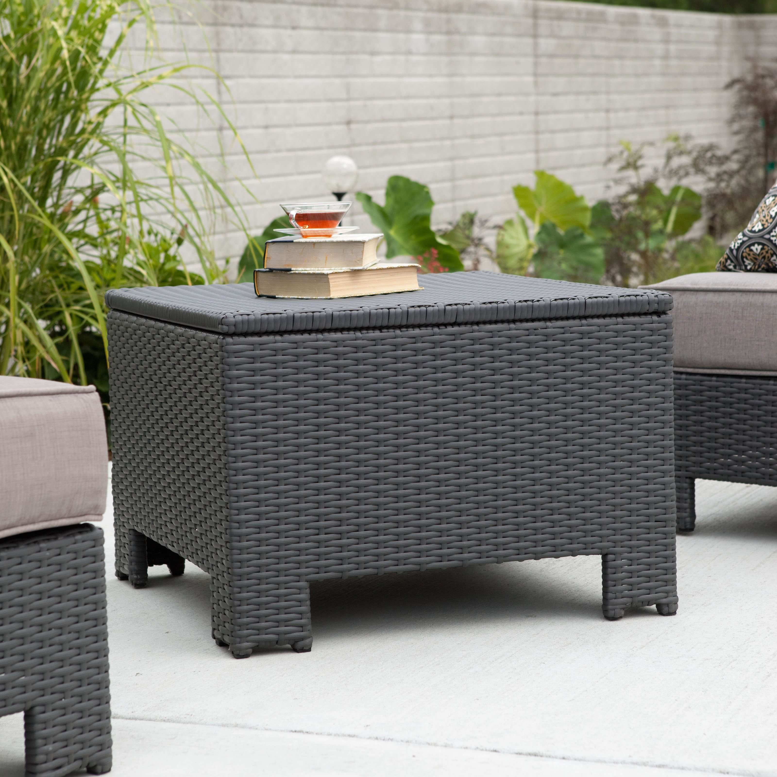 luxury gallery inspirations about threshold wicker patio storage creative accent table coral coast isle all weather large white coffee shades light coupon pink metal target
