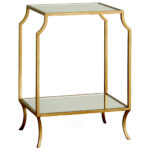luxury living room with gold chrome finished tall accent table square glass top design single bottom shelf available brass iron legs ideas sage green paint skinny furniture 150x150
