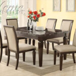 luxury marble top dining room sets accent chair set with table chairs and contemporary style furniture wicker porch safavieh gold coffee country lamps brown lamp cover factory 150x150