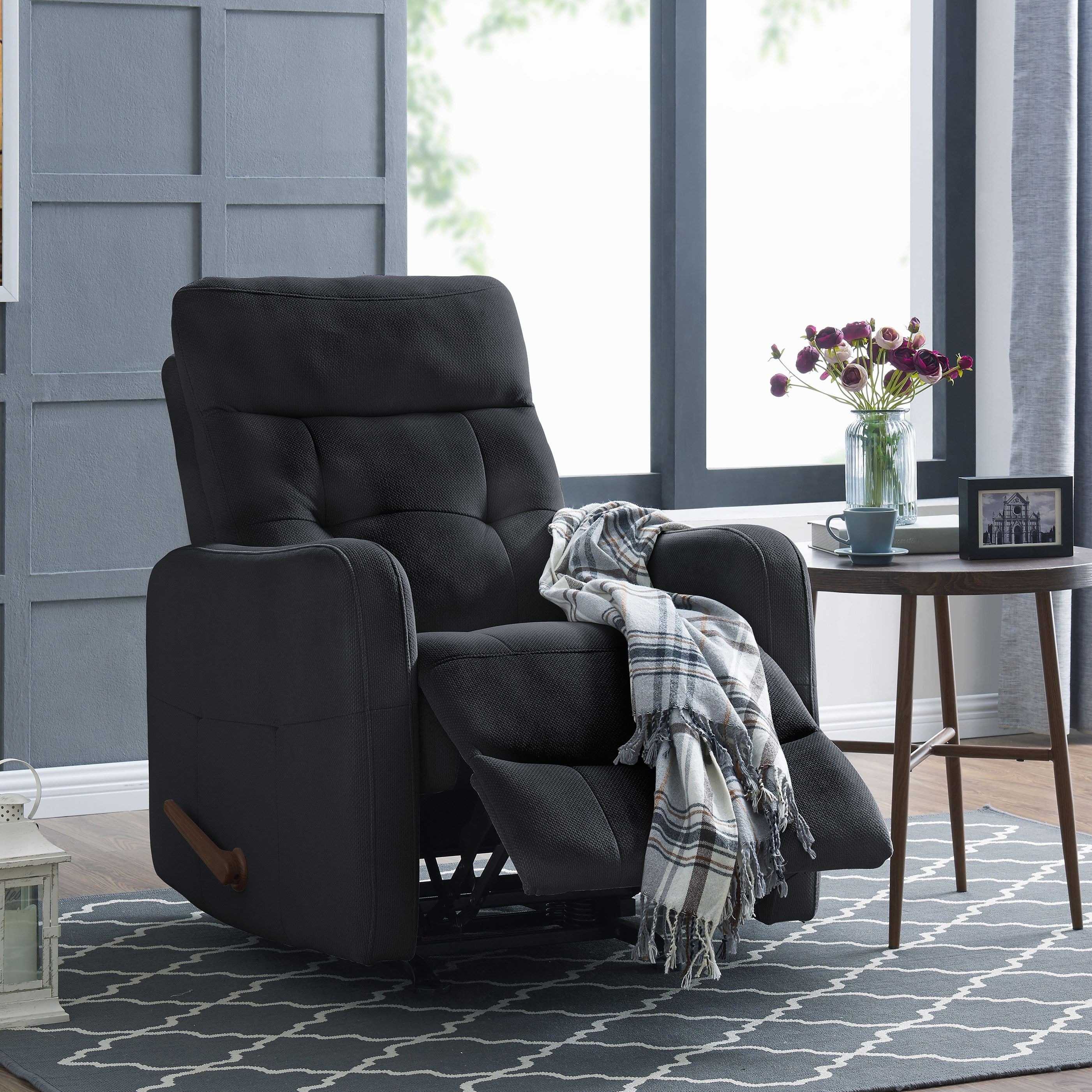 luxury reclining armchairs living room lumsden homes inspirational prolounger rocker recliner chair navy blue velour target slipcovers phone popsocket couch the range sofa beds