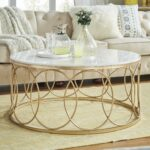 lynn round gold accent tables with marble tops inspire bold top table free shipping today black and glass coffee hampton bay furniture covers storage cabinets chests side light 150x150