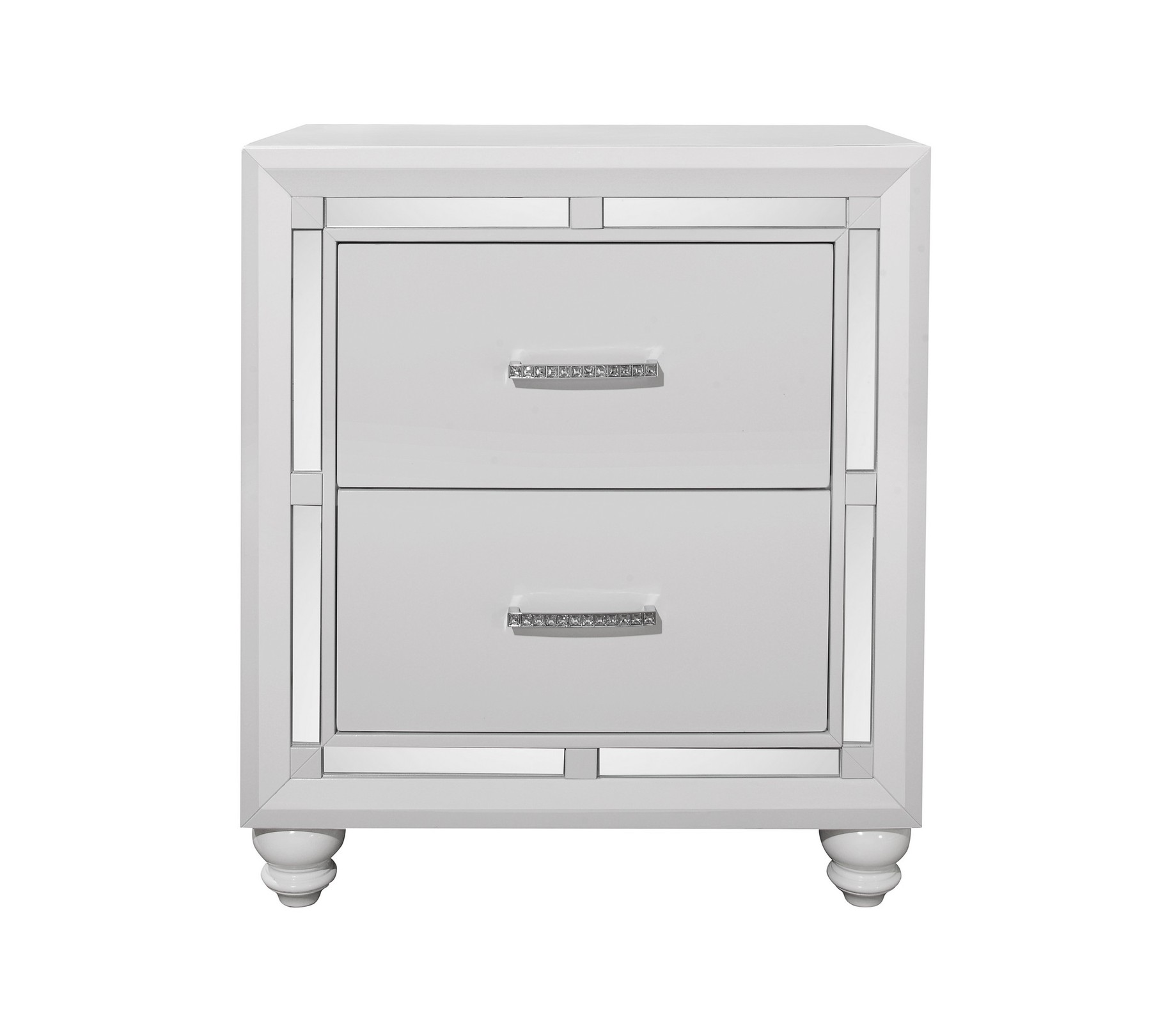 mackenzie night stand global furniture usa stands nst mirrored accent table open new window battery operated led lights bistro and chairs drum shaped bedside tables annie sloan