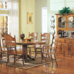 mackinaw oval single pedestal dining table with leaf tables coaster room accent furniture windham coffee sitting side yard and chairs brass hairpin legs piece set target jcpenney 150x150