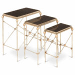 mad for mixed media design blog hom furniture material accent table gold and marble tables are classy take materials kitchen remodel floor lamp black mirrored nightstand wine rack 150x150