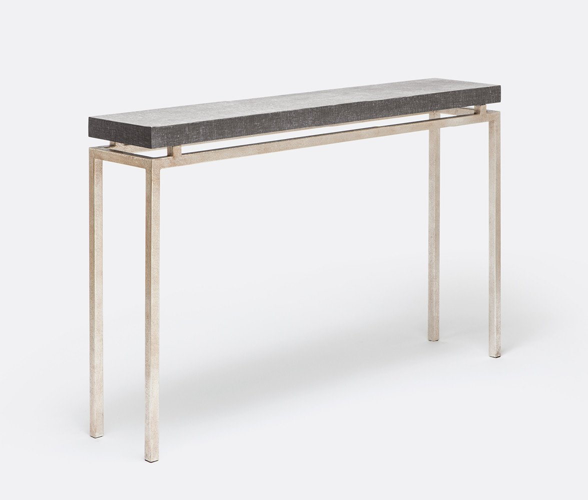 made goods benjamin narrow console table silver tall thin accent mirrored nightstand large umbrella living room design round tablecloth pattern bedroom side cabinets gray wicker