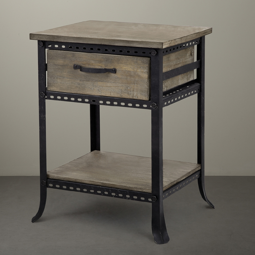 madison park cirque accent end table drawer tables with drawers reclaimed gray metal hobby lobby coffee ashley furniture entryway ikea nest dale tiffany hanging lamps west elm