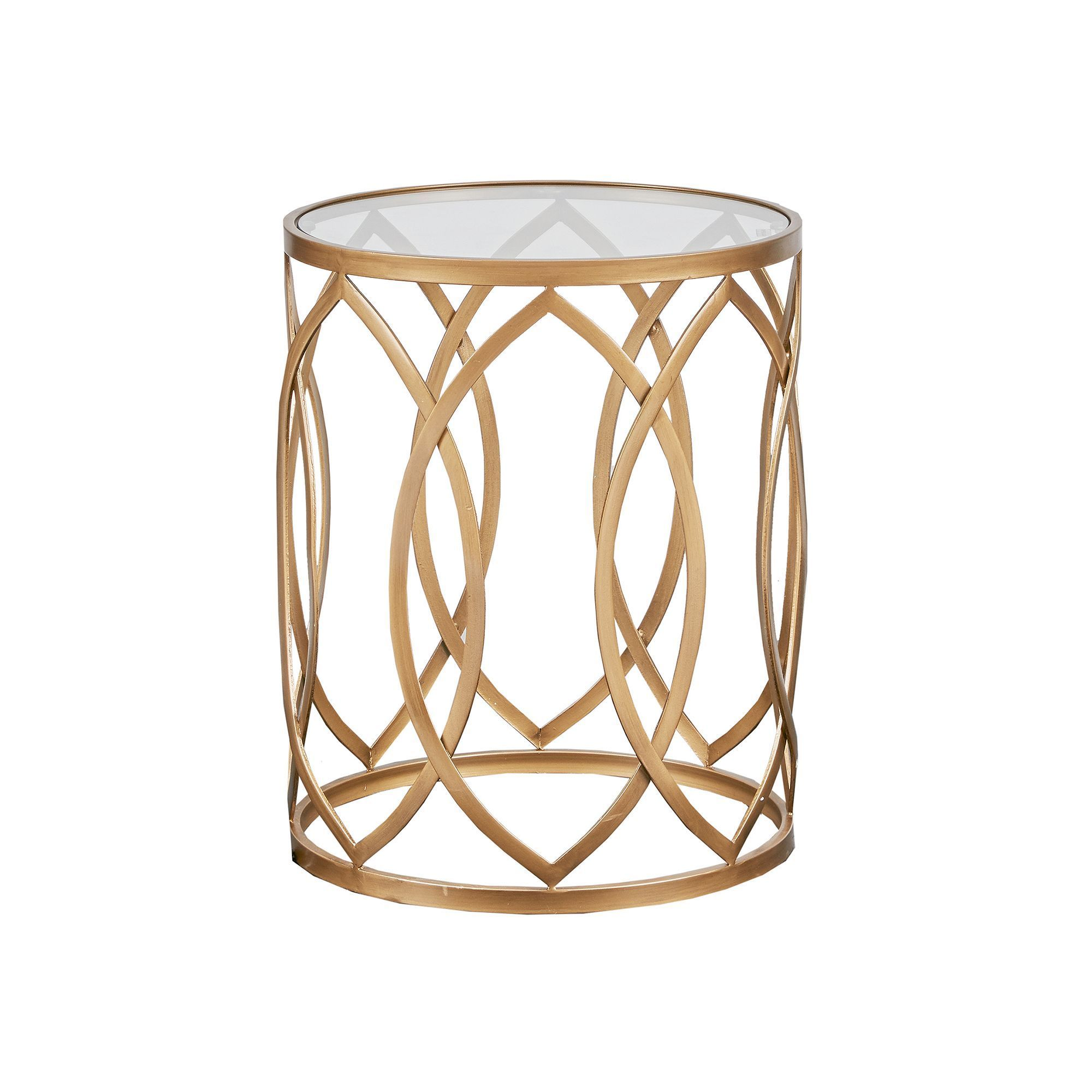 madison park coen metal end table products gold accent bedroom night stands antique round pedestal exterior ethan allen dining chairs wide nightstand drum throne rustic and wood